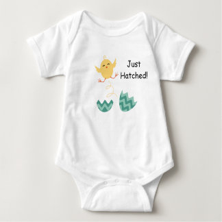 Just Hatched Baby Chick Outfit Baby Bodysuit