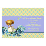 """Just Hatched Easter Invitation 5"""" X 7"""" Invitation Card"""