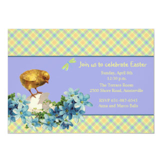 Just Hatched Easter Invitation