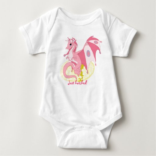 Just hatched! Infant One-Piece for Girls Tee Shirt