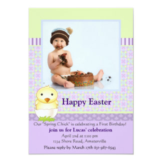 Just Hatched Photo Easter Card