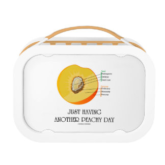Just Having Another Peachy Day (Peach Anatomy) Lunch Box