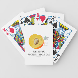 Just Having Another Peachy Day (Peach Anatomy) Card Deck
