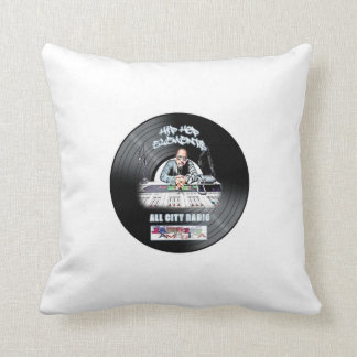 Just Hits  Hip Hop Elements ALL CITY Radio Pillow