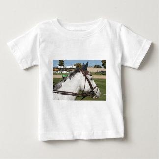 Just horsin' around: show horse tshirt