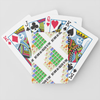 Just How Am I Related To You? (Genealogy) Bicycle Playing Cards