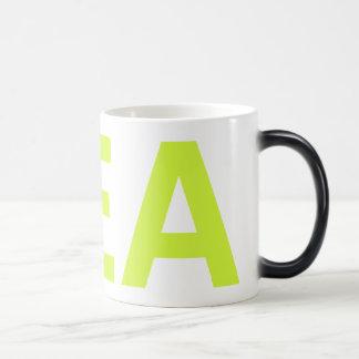 Just how i like my GREEN TEA 11 Oz Magic Heat Color-Changing Coffee Mug