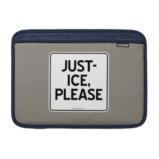 JUST-ICE, PLEASE SLEEVE FOR MacBook AIR