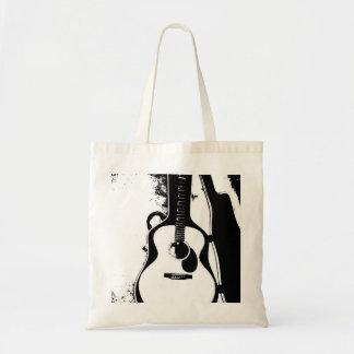 Just in Case Acoustic Guitar Tote Bag