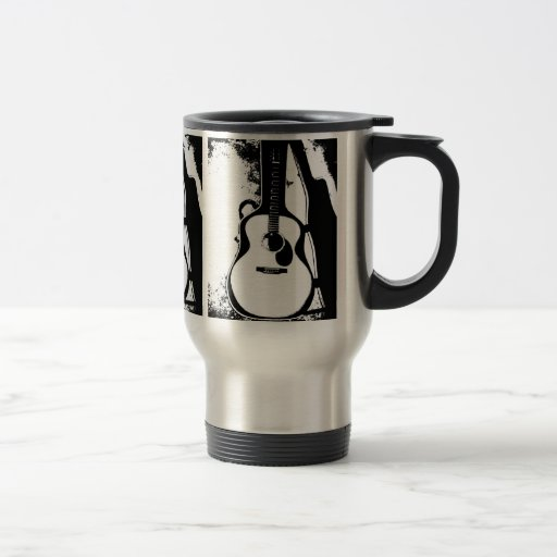 Just in Case Acoustic Guitar Travel Mug