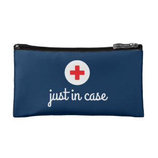 Just in Case/First Aid Pouches - Blue Makeup Bags