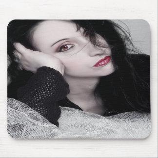 Just Jaeda - Self Portrait Mouse Pads