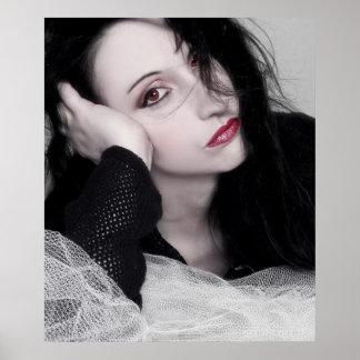Just Jaeda - Self Portrait Poster