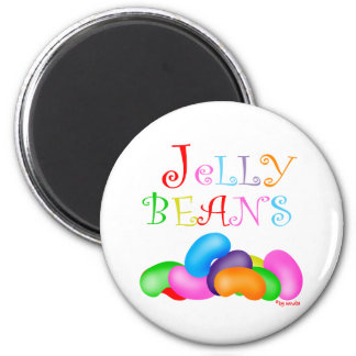 Just Jelly Beans 2 Inch Round Magnet