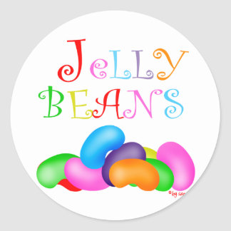 Just Jelly Beans Classic Round Sticker
