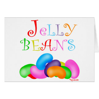 Just Jelly Beans Greeting Card