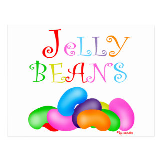 Just Jelly Beans Postcard