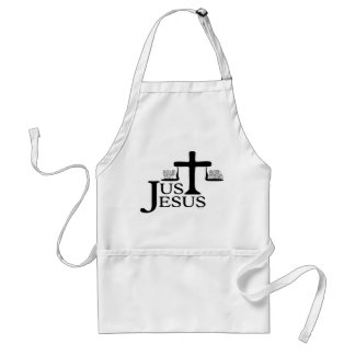 Just Jesus Adult Apron