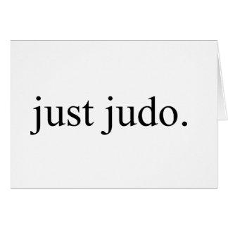 Just Judo Card