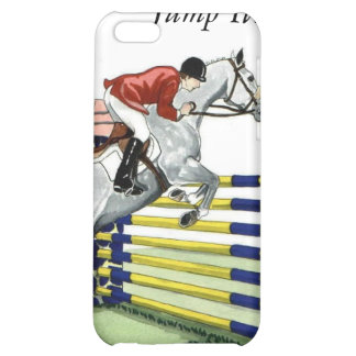 Just Jump It Equestrian Cover For iPhone 5C