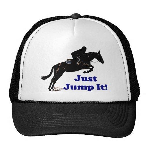 Just Jump It Equestrian Trucker Hat