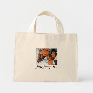 Just Jump It Horse Bag