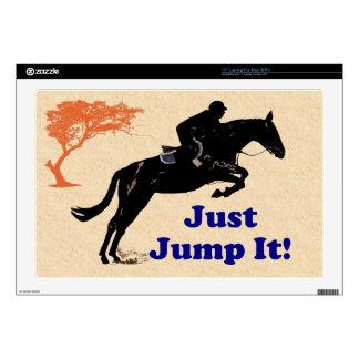 Just Jump It! Horse Laptop Skin