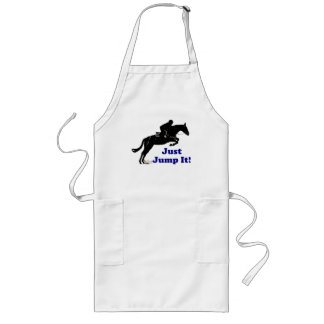 Just Jump It! Horse Long Apron