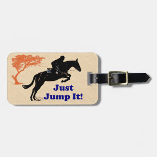 Just Jump It! Horse Travel Bag Tags