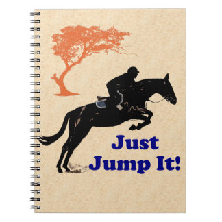 Just Jump It! Horse Notebook