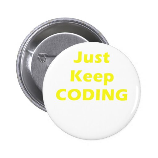 Just Keep Coding Pins