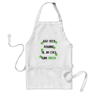 Just keep pouring... adult apron