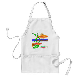 Just Keep Swimming Adult Apron