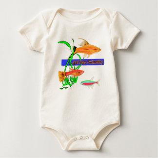 Just Keep Swimming Baby Bodysuit