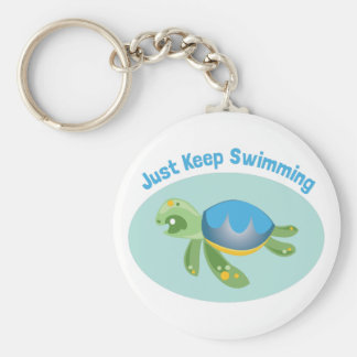 Just Keep Swimming Keychains