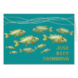 Just Keep Swimming Notecard Stationery Note Card