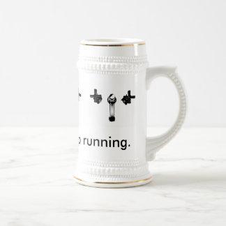 Just Keep the Tap Running Mug