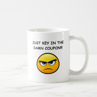 JUST KEY IN THE COUPON! COFFEE MUG