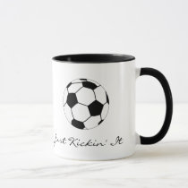 Just Kickin' It Mug