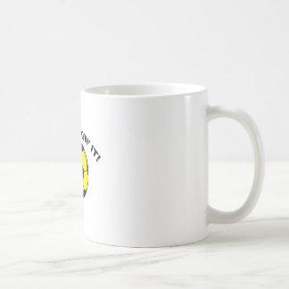 Just Kickin' It! Classic White Coffee Mug