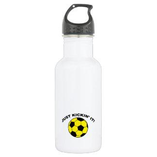 Just Kickin' It! 18oz Water Bottle