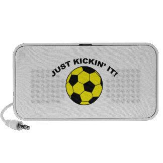 Just Kickin' It! Portable Speaker