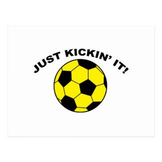 Just Kickin' It! Postcard