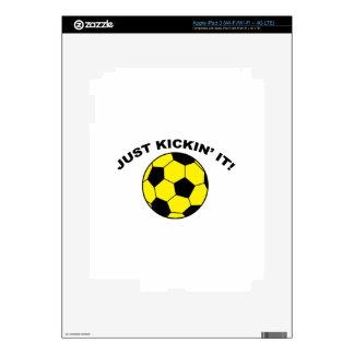 Just Kickin' It! Skin For iPad 3