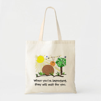 Just Kids at Heart - Snail (1a) - Important Person Tote Bag