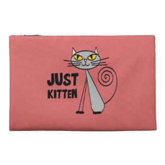 Just Kitten Travel Accessories Bags