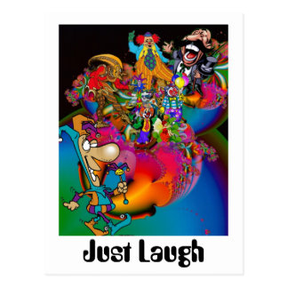 Just Laugh Postcard