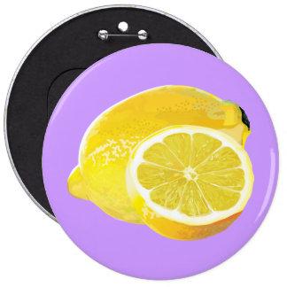 Just Lemons Button