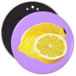 Just Lemons Pinback Buttons