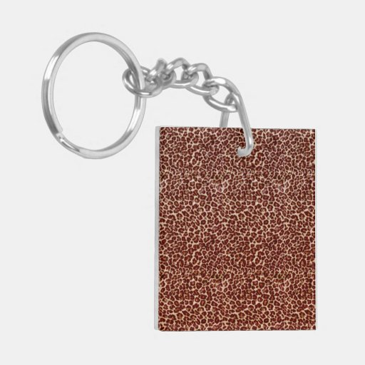 Just Leopard Acrylic Key Chains
